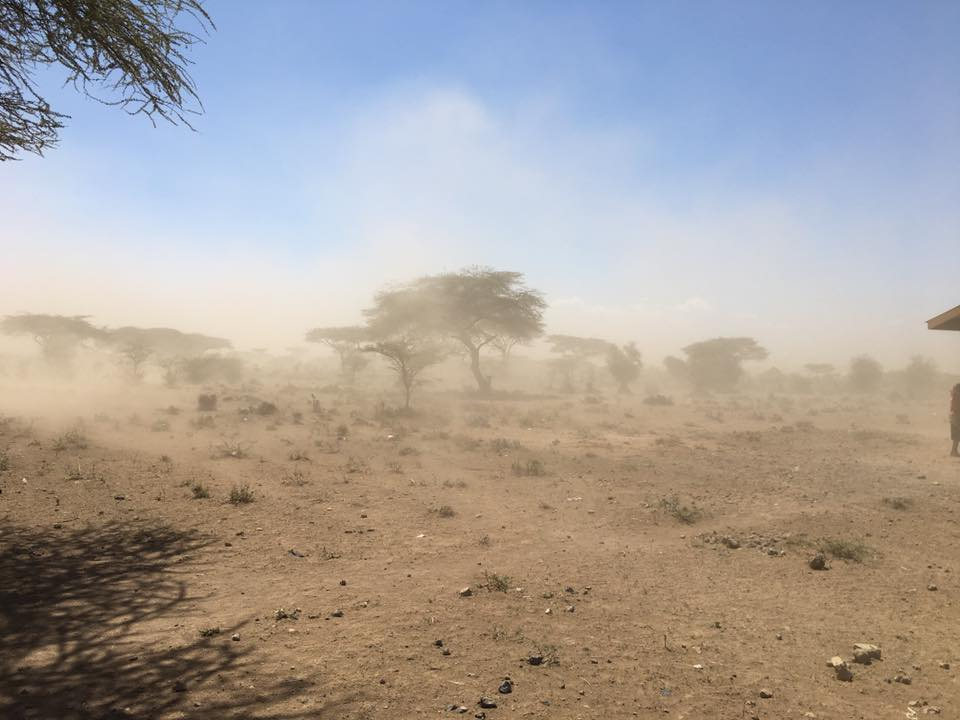 African Sand storm