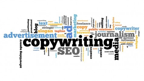 Copywriting tag cloud