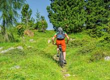 Mountain bike hill climber