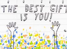 Best gift is you mural
